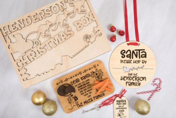 Australian Personalised Christmas Eve Box Set