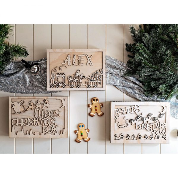 Selection of Personalised Christmas Eve Boxes Australia