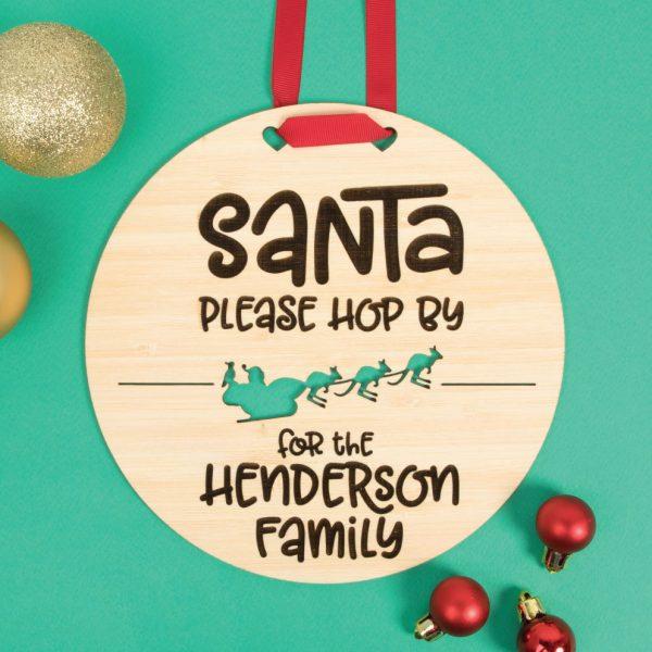 Australian Santa Hop By