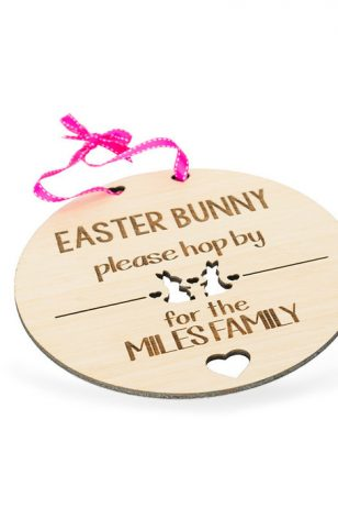 personalised easter sign