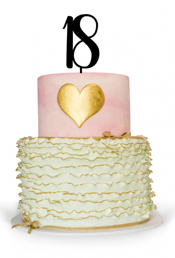 18th Cake Topper Australia for 18th Birthday Cake