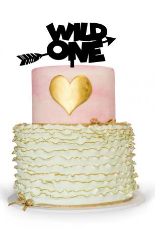 First birthday cake topper boy
