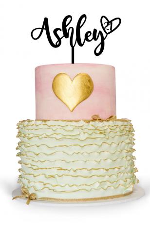 Personalised 21st birthday cake topper Australia for 21st birthday cake