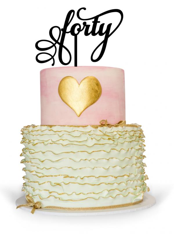 40th birthday cake toppers Australia
