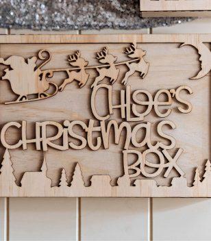 Santa and Reindeer Personalised Christmas Eve Box Australia