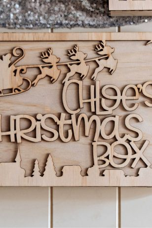 Santa and Reindeer Personalised Christmas Eve Box Australia
