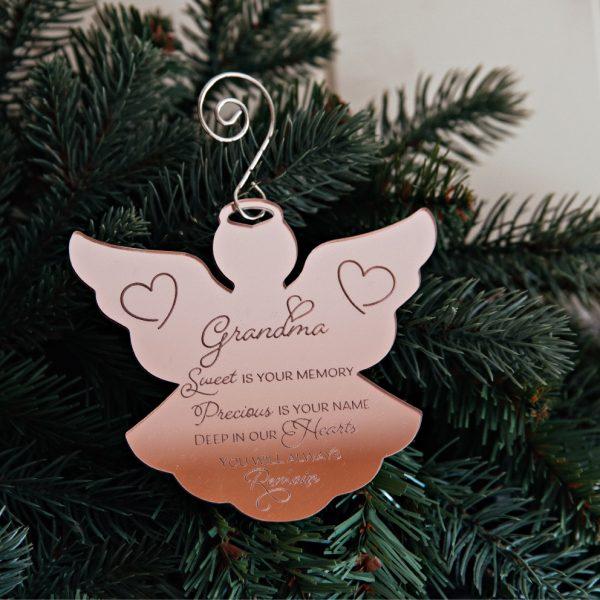 Personalised Memorial Christmas Ornament