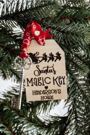 Personalised Santa Magic Key Australia