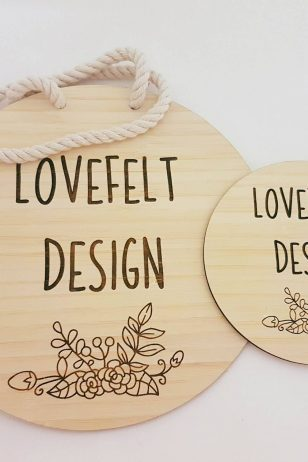 Personalised Flat Lay Disc