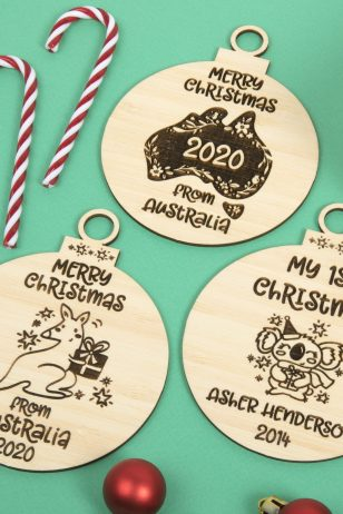 Aussie Christmas Ornaments