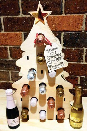 12 Days of Christmas Wine Advent Calendar Tree